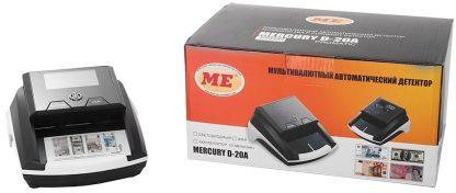 Автоматический детектор банкнот Mercury D-20A