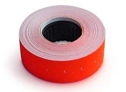 Этикет-лента 21,5*12 красная прямоугольная