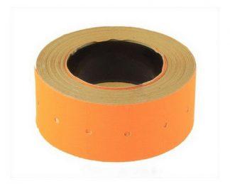 Этикет-лента 26*16 оранжевая прямоугольная