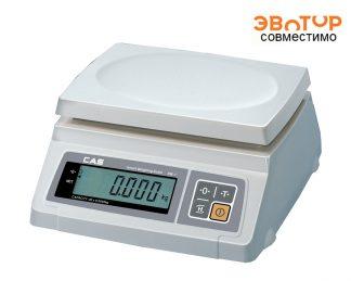 Весы фасовочные CAS SWII