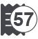 Макс. ширина чековой ленты 57 мм