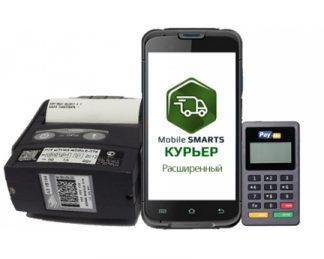 Терминал Unitech EA600 ПО Mobile SMARTS: Курьер ККМ ШТРИХ-Mobile-Ф Пинпад