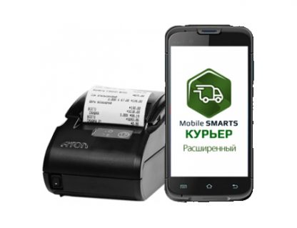 Терминал Unitech EA600 ПО «Mobile SMARTS: Курьер» ККМ АТОЛ 11Ф