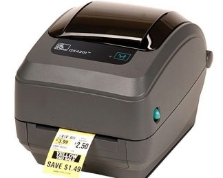 Принтер штрих-кодов Zebra GK420t