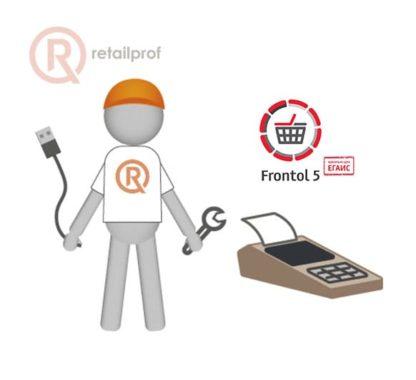 Подключение ККТ к программе Frontol 5