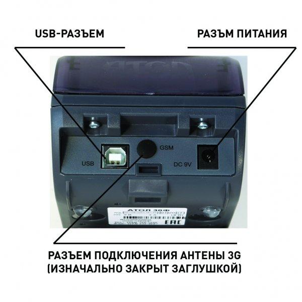 Интрфейсы Атол 30Ф