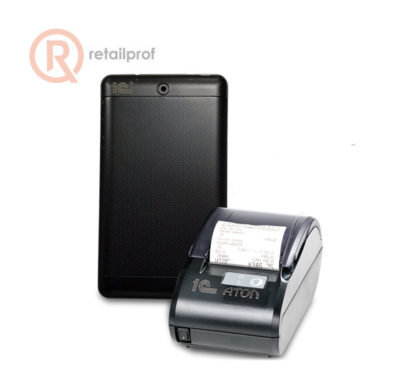 """Комплект Атол 11Ф + планшет 1С 7"""" + 1С:Мобильная касса + 1С:Управление нашей фирмой"""