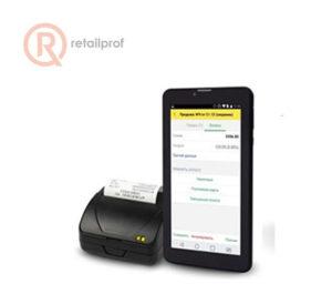 """Комплект Атол 15Ф + планшет 1С 7"""" + 1С:Мобильная касса + 1С:Управление нашей фирмой"""