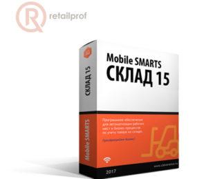 Программное обеспечение Mobile SMARTS: Склад 15