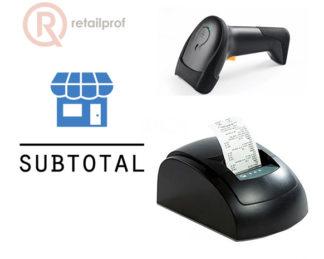 Комплект автоматизации Вики Принт 57Ф и Subtotal