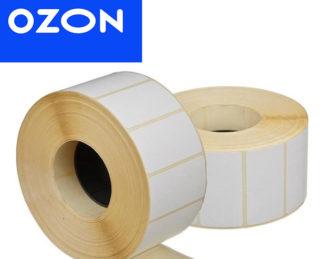 Этикетка для Озон 75х120 мм